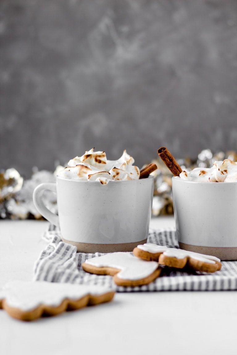 white chocolate chai tea latte