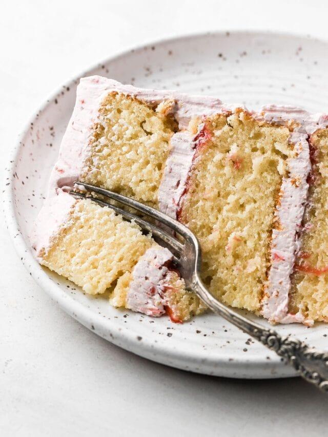 Vanilla 6 inch Cake