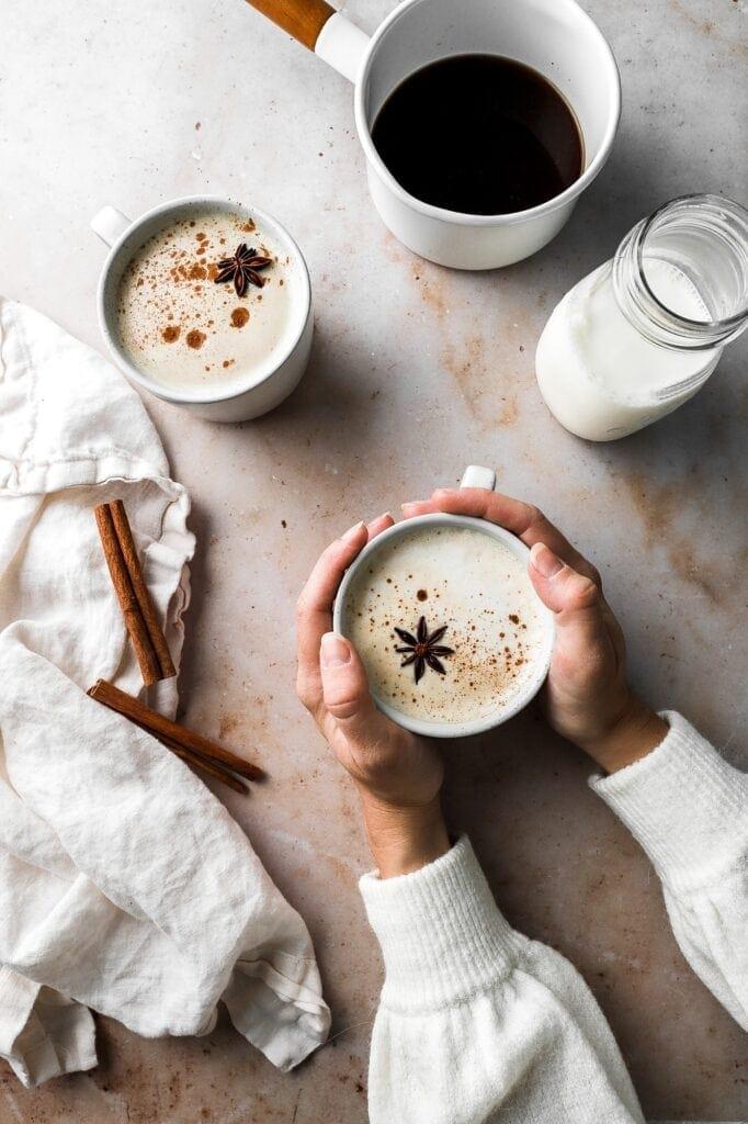 chai concentrate and chai latte
