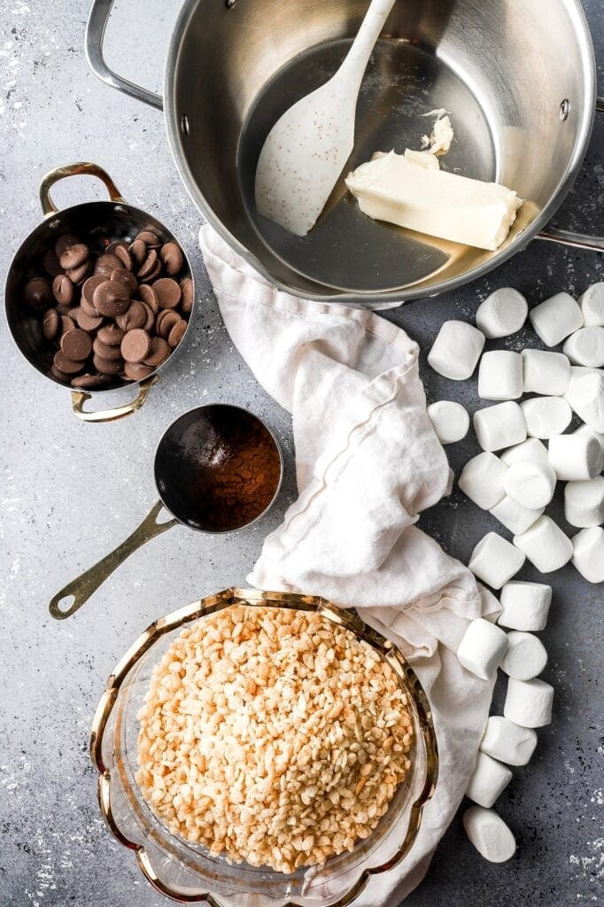 ingredients for rice krispie treats