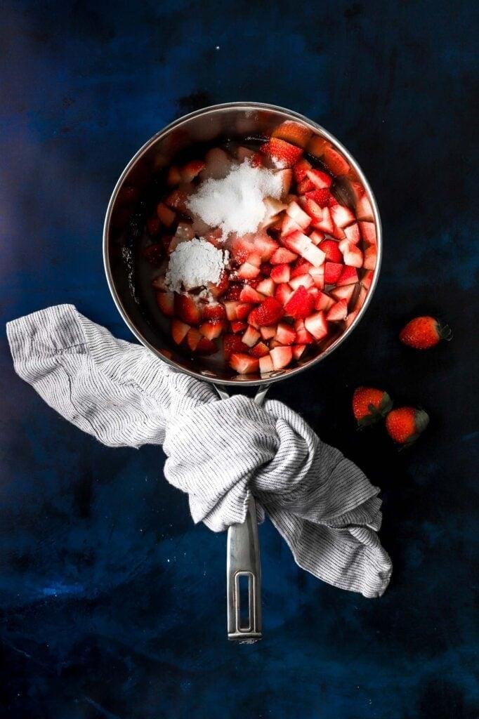 strawberry jam filling
