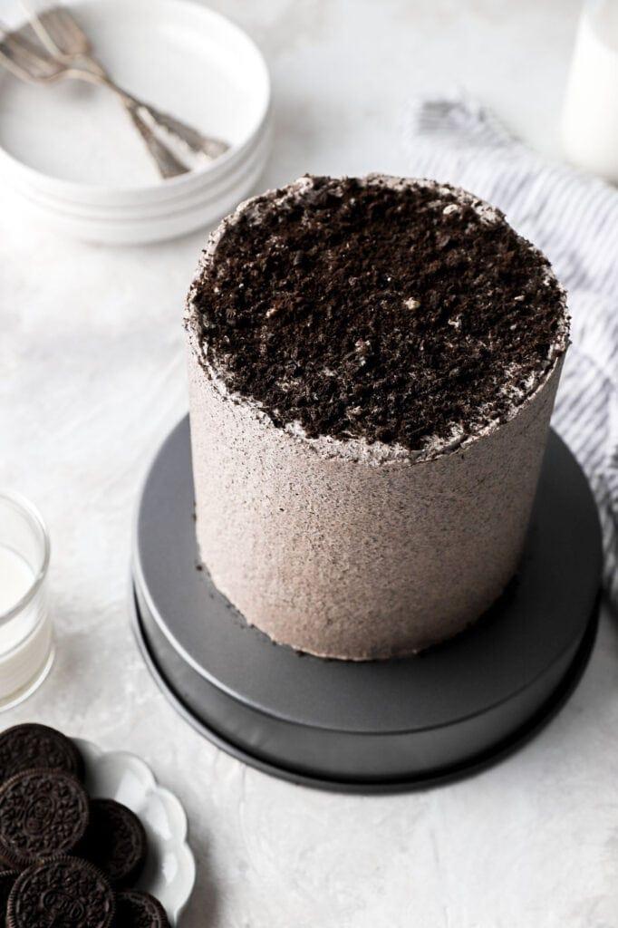 oreo cake crumbs