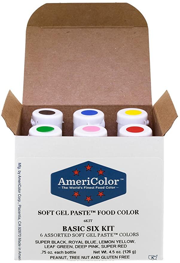 Americolor Gel Food Coloring
