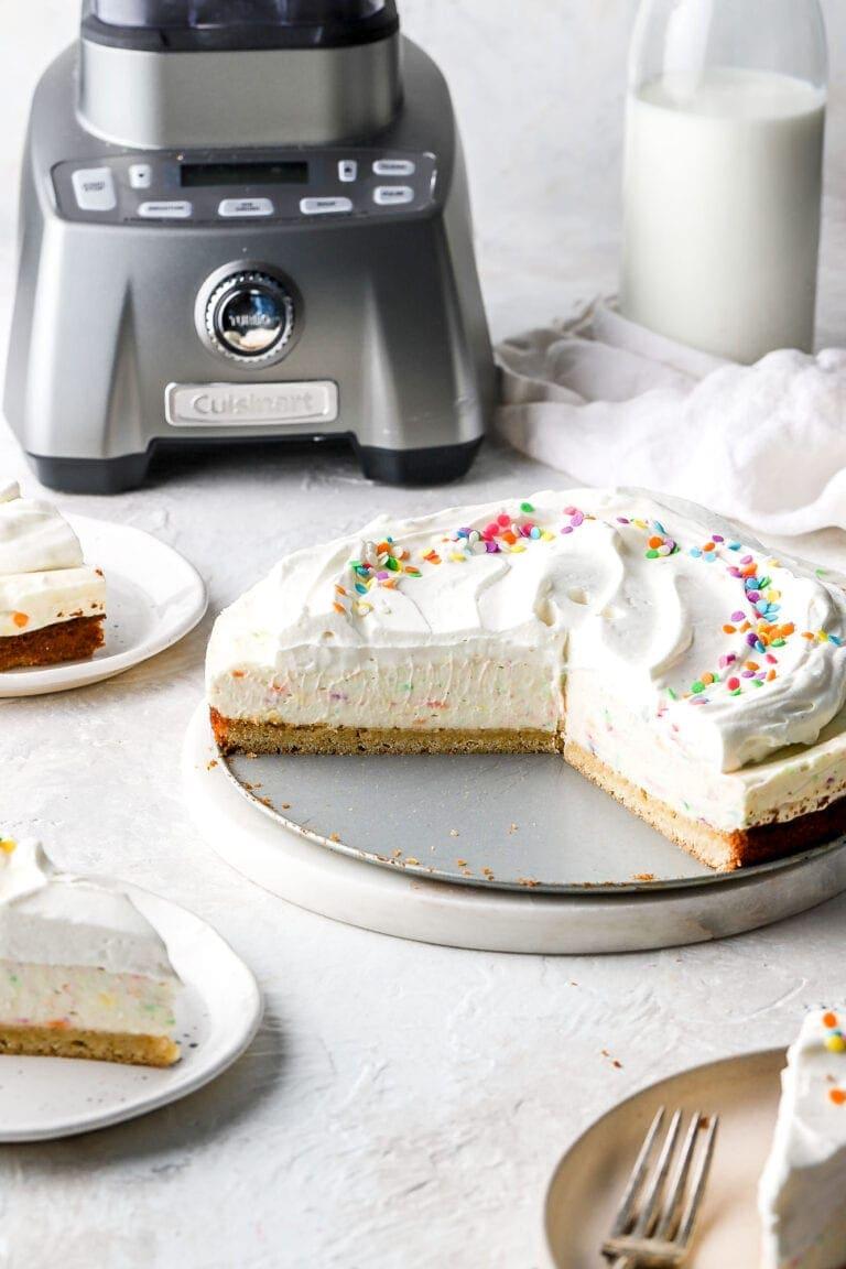 add the birthday cake cheesecake