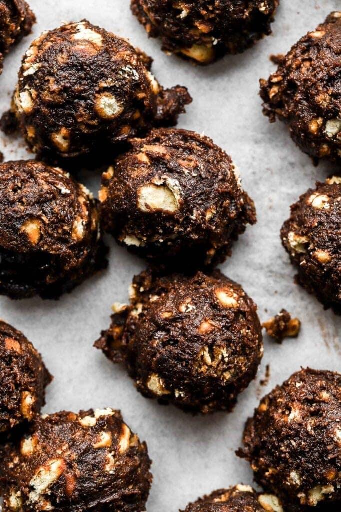 Chocolate Animal Cracker Truffles-7