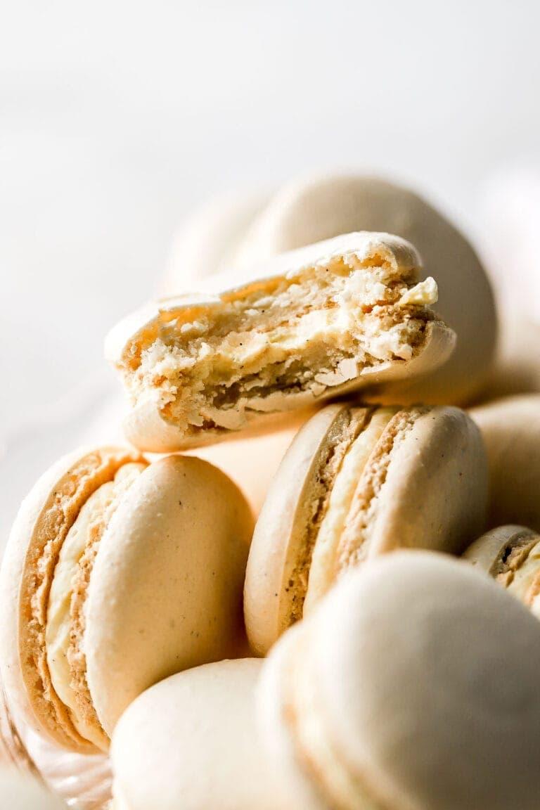 vanilla macaron recipe