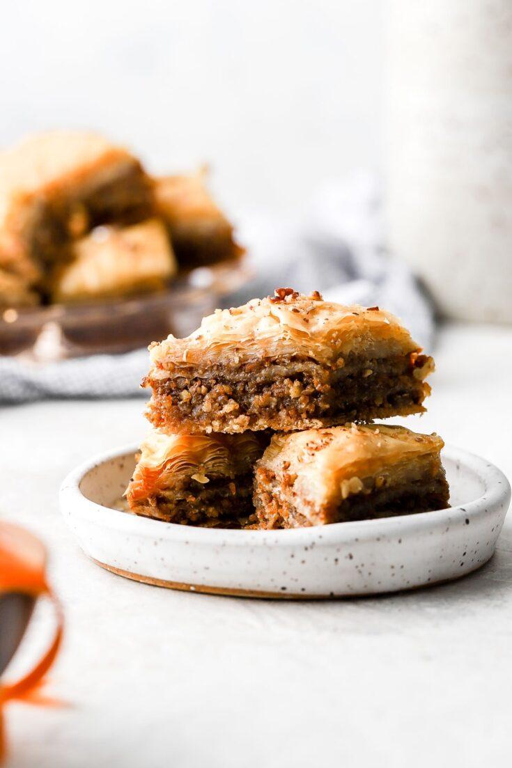 carrot cake baklava