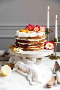 honey lemon cake (mezes kremes)