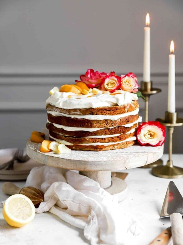 Honey Lemon Cake (Mézes Kremes)
